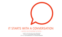 It starts with a conversation